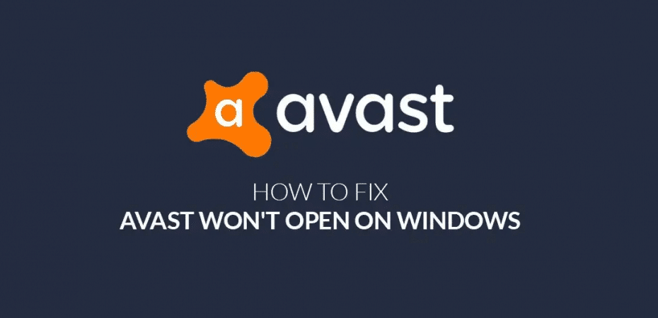 How To Fix Avast Not Opening On Windows