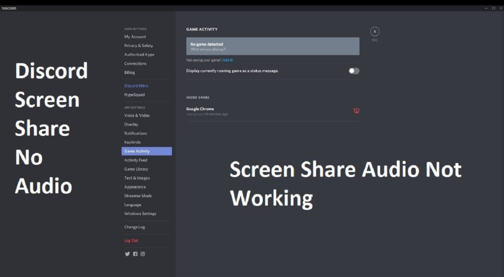 How To Resolve Discord Screen Share No Audio Fix