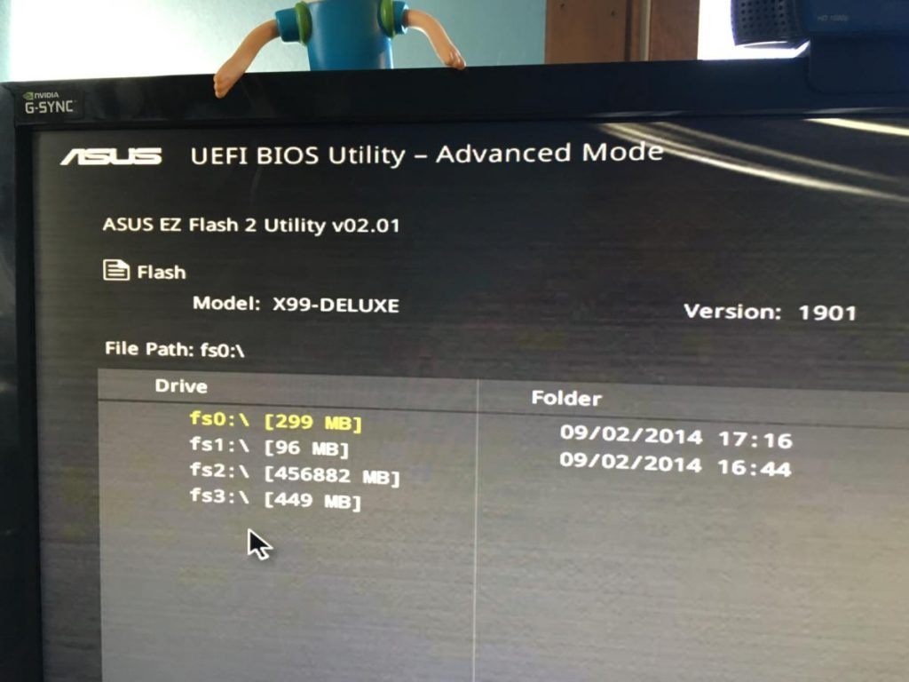 BIOS Update from the web
