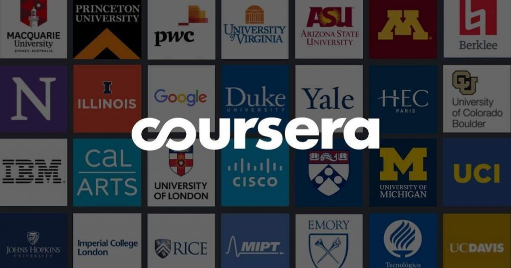 Coursera is the famous platform for education