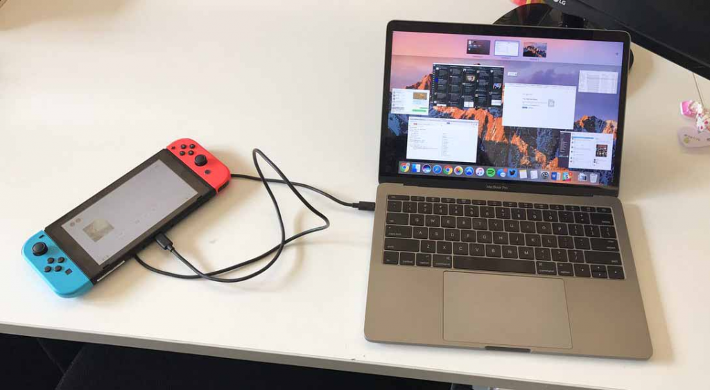 Steps To Connect The Switch To The Laptop