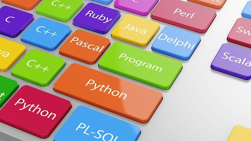You need to choose a programming language first