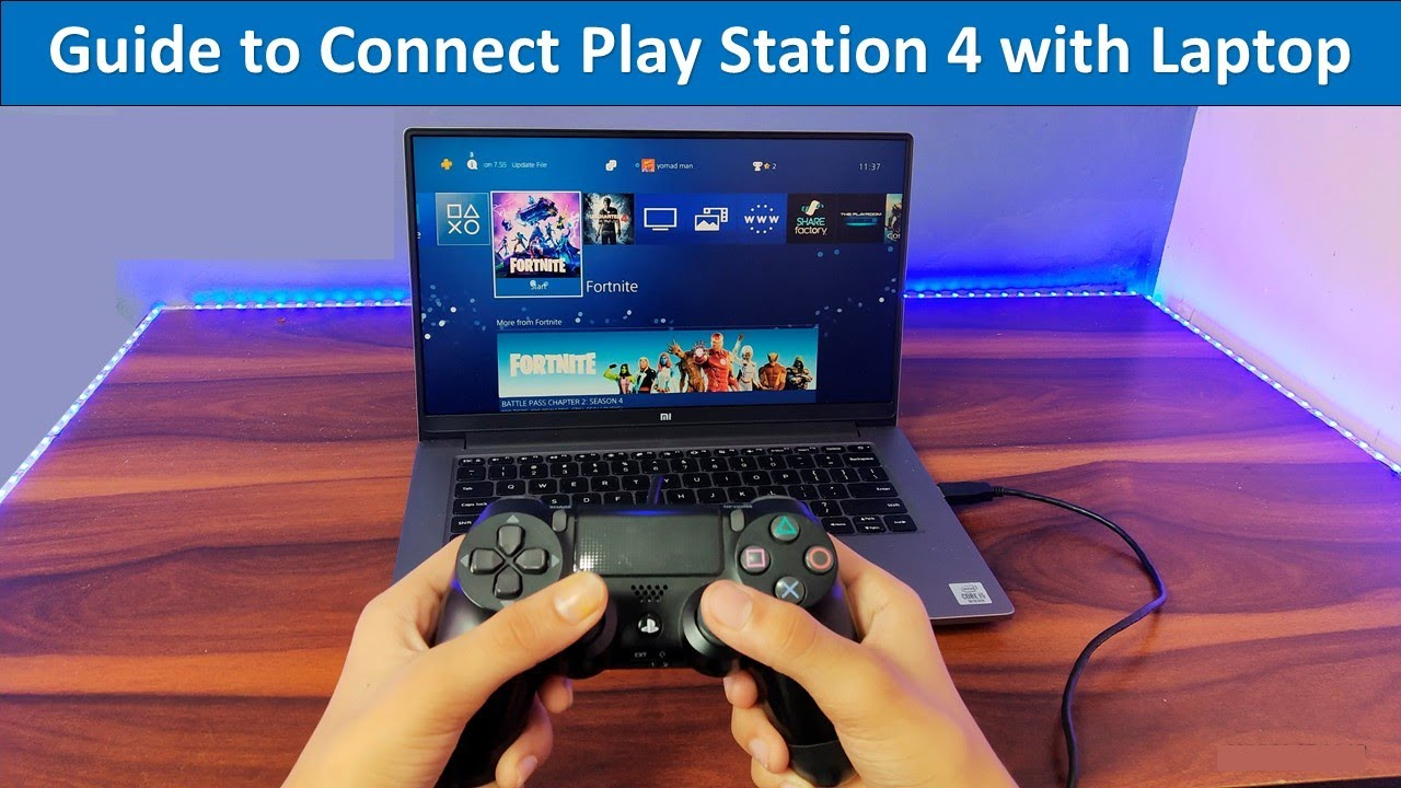 How To Connect Ps4 To Laptop Screen