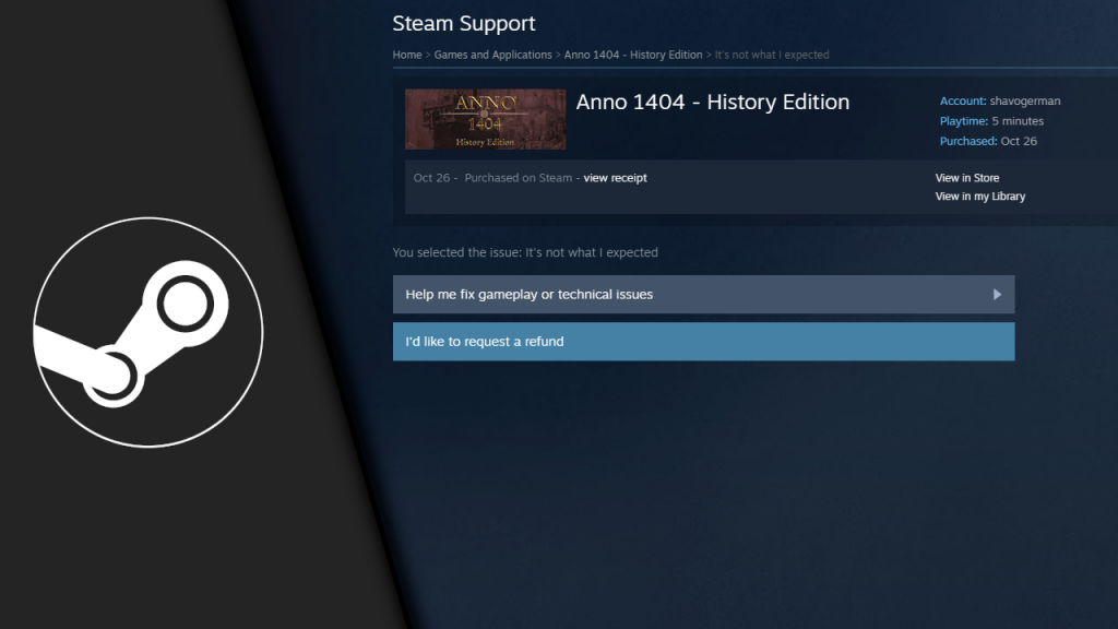 Is there any limit to getting a Steam refund?