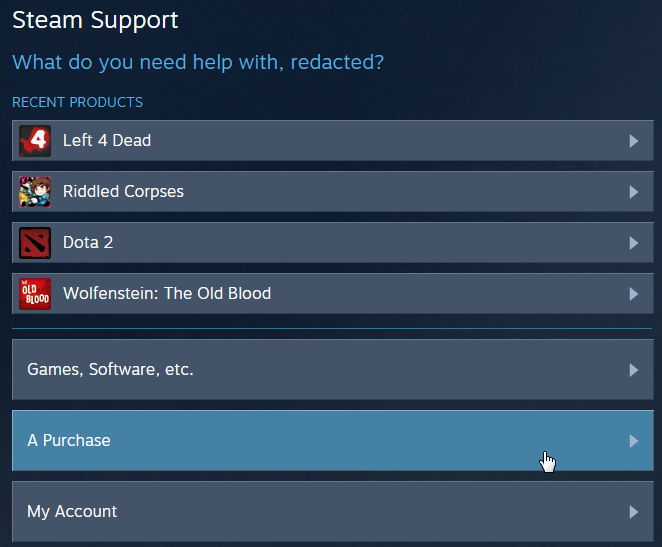 Steam will ask you a list of questions before offering a refund.